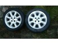 Alloy wheels for MG