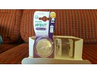 Philips Avent Natural. 3 packs of 2 fast flow teats