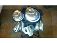 Ping moxi (junior) golf set with bag and trolley.