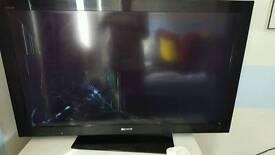 sony 40 inch tv cracked screen