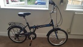 As new fold up push bike
