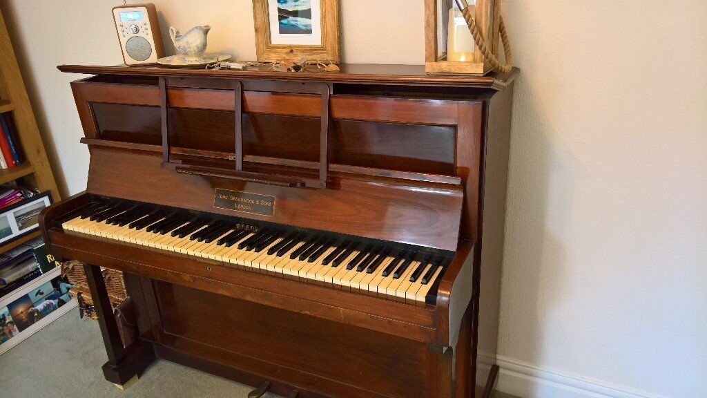 Great piano broadwood cottage upright in newcastle for 2 piani cottage storia