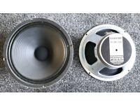 Celestion 12 inch 150 watt speaker, VGC, just £35;