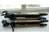 2 x Velbon Tripods. £30 each or £50 for both