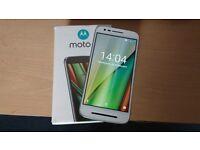Motorola MOTO 3RD GEN BOXED 4G **UNLOCKED ANY SIM** quadcore Android smartphone