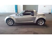 2005 Smart Roadster convertible 700cc Turbo with full mot on sale.