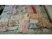 Girls 0-3months clothes bundle
