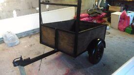 Trailer garden trailer