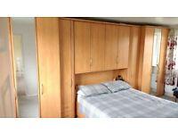 Wardrobe Set with Kingsize Bed base by Nolte Mobel