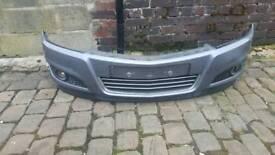 Astra H facelift front bumper.
