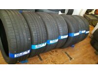 """Pirelli 18"""" tyres as new 7-8mm tread pairs of 215 45 18..225 45 18..235 45 18"""