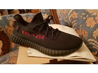 Yeezy 350 bred. Black yeezy boost. Brand new yeezy trainers