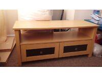 Wooden tv cabinet.