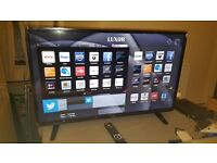 LUXOR 43-inch Smart FHD LED TV-built in Wifi,Freeview PLAY,Netflix, in EXCELLENT CONDITION