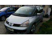 renault espace 2ltr turbo