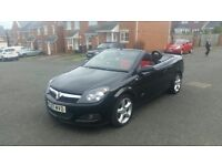 2007 vauxhall astra 1.8 sport twin top convertible low miles service history