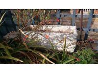 Stone Concrete Planter Troughs