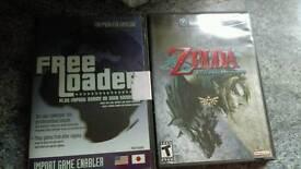 Zelda Twilight Princess Gamecube Game