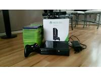 Xbox 360 with games 250 gb slim