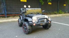 2 seater Jeep ride on kids electric car brand new
