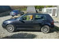 Golf GTI lc97 black bonnet and tailgate with spoiler!!