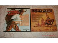 "2 X COUNTRY AND WESTERN-""VARIOUS ORIGINAL ARTISTS"" VINYL BOX SETS.-EX"