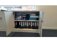 White Bookshelves/ Cabinets (5) *Urgent*