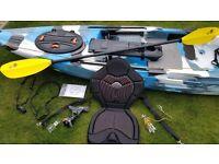 FeelFree Moken 12.5 Fishing Kayak + accessories