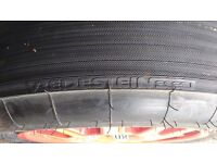 Vredestein spare tyre and wheel suit Audi Q , Porsche etc.