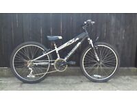"""Specialized Hotrock kids bike 24"""" wheel childs aluminium bicycle front suspension and gears"""