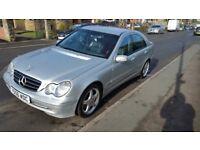 2001 Mercedes c270 cdi avantgarde diesel automatic amg alloys leather seats