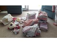 Baby Girl Clothes - Selection of Newborn Size 0-3 Months and 3-6 Months - All Great Condition