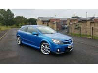 2009 09 VAUXHALL ASTRA 2.0T VXR ARDEN BLUE HPI CLEAR VERY CLEAN EXAMPLE KEYLESS ENTRY PUSH BUT START