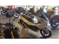 Brand new Honda PCX125 white delivered to owner suddenly unable to drive. Delivery mileage 10 only
