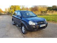 2005 Hyundai Tucson 2.0 CRTD CDX 4WD Station Wagon F/S/H 1 Owner New MOT HPI Clear