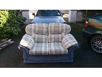 Two piece upholstered suite