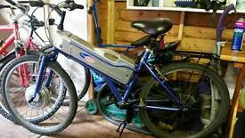Powabyke electric bicycle. rides like it should needs tlc welcome to view