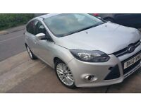Ford Focus 2012 Zetec 2.0 Diesel Auto 62000 miles,NOT Polo, Golf, A class, Astra, Corsa, A3, i30,a4