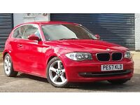 2007 BMW 1 SERIES 2.0 118d SE 3dr ++ 11M MOT ++ FSH ++ BARGAIN £3541 ++