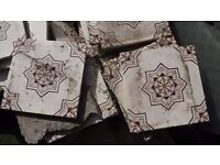 ~60 Victorian Fireplace Tiles