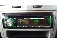 Pioneer DEH X5600BT Single Din Stereo
