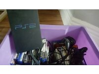 Ps2 for sale with loads of games