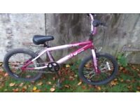 NICE BOYS OR GIRLS VIBE BMX WITH NEW CHAIN AND BRAKE CABLES