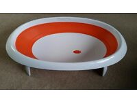 Boon Baby Bath 2 position collapsible baby bath