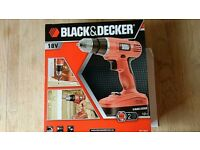 Black & Decker 18 V Cordless Drill EPC18 NI-CAD Drill Driver