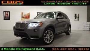 2013 BMW X3 xDrive28i | Panoramic roof | Navigation |
