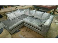 Stunning left had corner sofa
