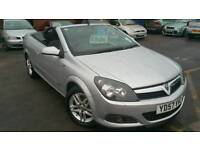 BARGAIN VAUXHALL ASTRA TWINTOP CONVERTIBLE 57REG LOW MILEAGE,WITH WARRANTY ALLOYS TYRES