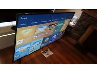 """SAMSUNG 48"""" 48JU6000 SUPER Smart 4K ULTRA HD TV,built in Wifi,Freeview HD,excellent condition"""
