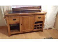Free standing kitchen island. Lovely piece of furniture.